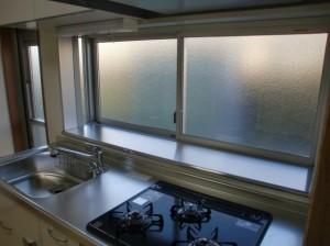 キッチン出窓